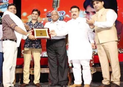 award to mr jai thakur ed